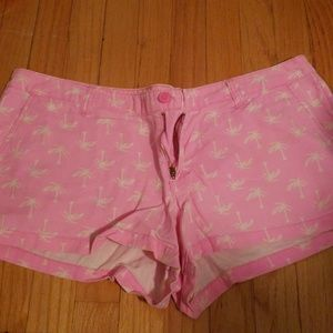 Mossimo Size 17 Palm Tree Shorts